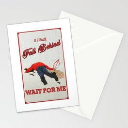 Fall Behind Stationery Cards