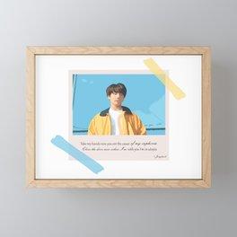 BTS Jungkook Euphoria Framed Mini Art Print