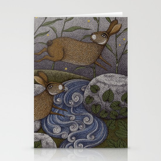 Swamp Rabbit's Reedy River Race Stationery Cards