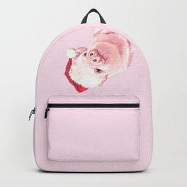 Sneaky Santa Baby Pig Backpack