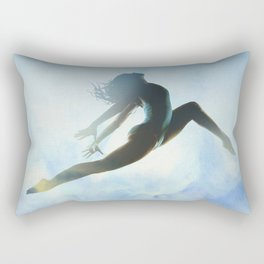 Dancer's Leap Rectangular Pillow