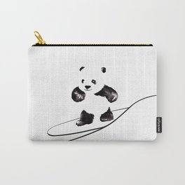 Surfing Panda Carry-All Pouch