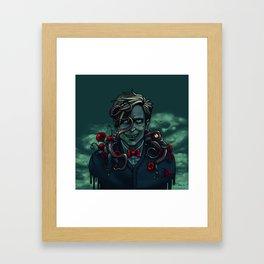 Underwater Phin Framed Art Print