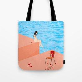 Meet Me Halfway Tote Bag