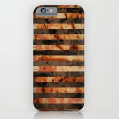 Rusty barrel abstraction iPhone 6s Slim Case