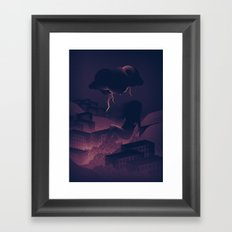 See Rainbow In The Dark Framed Art Print