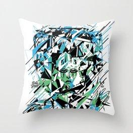 Street Diamond Throw Pillow