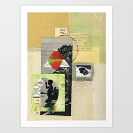 I Get Excited When I See Bees Now. Art Print