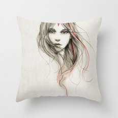 .Desirious Throw Pillow
