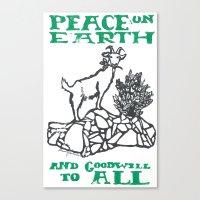 Peace on earth 2014 II Canvas Print