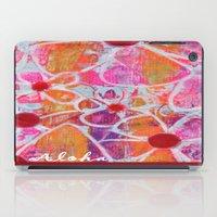 aloha iPad Cases featuring Aloha by E.Seefried Art