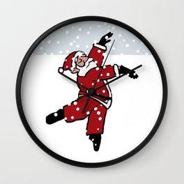 Dancing Santa - 10 Wall Clock