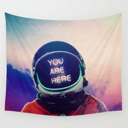 Where You Are Wall Tapestry