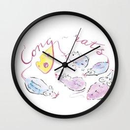 Congrats Wall Clock