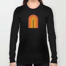 Gradient Arch - Vintage Orange Long Sleeve T-shirt