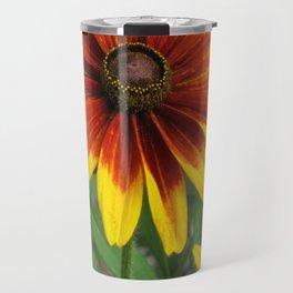 Flower | Flowers | Yellow Gaillardia Daisy | Nature Photography Travel Mug