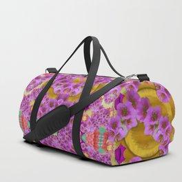 fantasy flower festoon garland of calm Duffle Bag