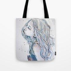Breeze (variant II), watercolor painting Tote Bag