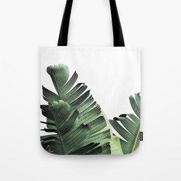 Green Banana Leaves Tote Bag