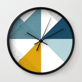 Modern Geometric 18 Wall Clock