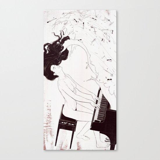 Duet. Pt.2 Canvas Print