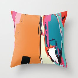 Your Reach is Long Throw Pillow