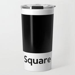 Square Shape Travel Mug