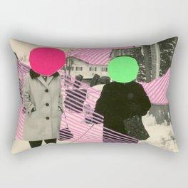 Fluo Conversations Rectangular Pillow