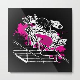 SHRED-209 Metal Print