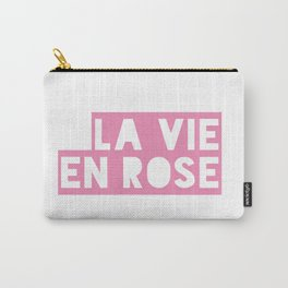 La vie en rose - text only Carry-All Pouch