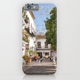 Plaza de los Naranjos iPhone Case