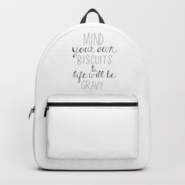 Biscuits & Gravy Backpack