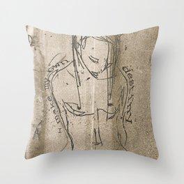 I make my own destiny Throw Pillow
