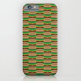 Cheeseburger Tessellation iPhone Case