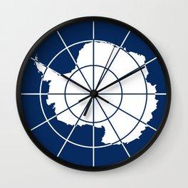 Flag of Antarctica Wall Clock