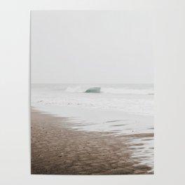 Faded ocean Poster
