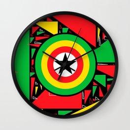 Djembefola Wall Clock