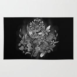 les fleurs du mal Rug