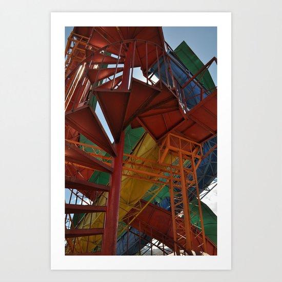 The Best Playground Ever Art Print