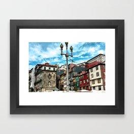 Porto Buildings Framed Art Print