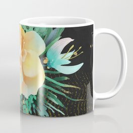 Golden & Black Collage Coffee Mug