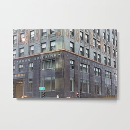Chicago Carbide and Carbon Building Metal Print