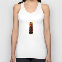 coke Tank Tops featuring Barcadi Coke by Rothko