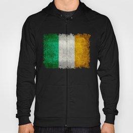 Republic of Ireland Flag, Vintage grungy Hoody