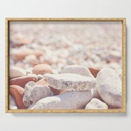 AFE Beach Rocks, Beach Photography Serving Tray