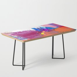 polo abstract red blue Coffee Table