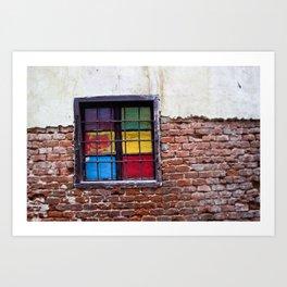 Window of Many Colors Art Print