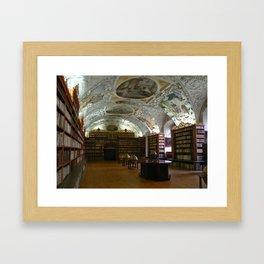 Monastery Library, Prague 2011 Framed Art Print