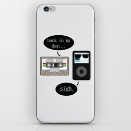 Back in my day iPhone Skin