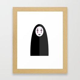 Spirited Away's No Face Framed Art Print